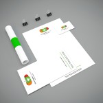 Fiona Stephens Branding. Including Letterheads, leaflets, compliment slips and business cards.