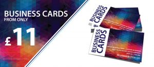 Business Cards from £11.